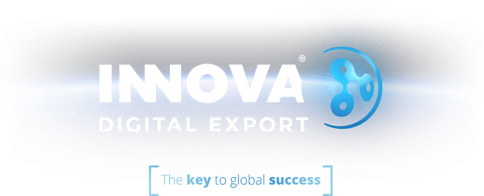 Innova Digital Export logo y claim