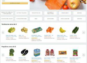 Imagen pantallazo de la tienda online